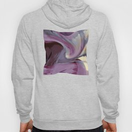 """""""Spring abstract in pink and purple"""" Hoody"""