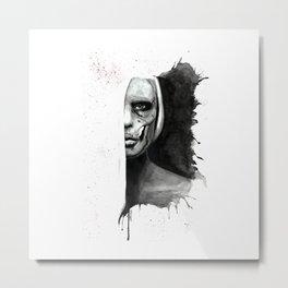 Skull Of Woman Metal Print