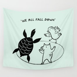 We All Fall Down Wall Tapestry