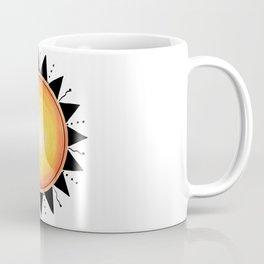 Sun Watercolor Ink Coffee Mug