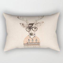 Deerest hipster Rectangular Pillow