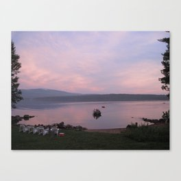 Sunset Scene Canvas Print