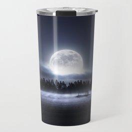 When the moon wakes up Travel Mug