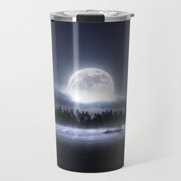 When the moon wakes up Travel Mug