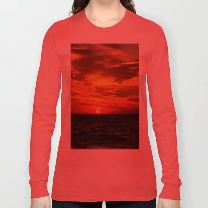 Burned Horizons Long Sleeve T-shirt