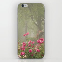 Blooms In Fog I iPhone Skin