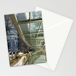 Hong Kong-Night View Stationery Cards