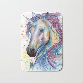 Whimsical Unicorn Bath Mat