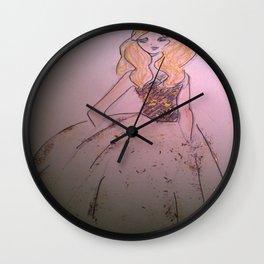 flare 1 Wall Clock