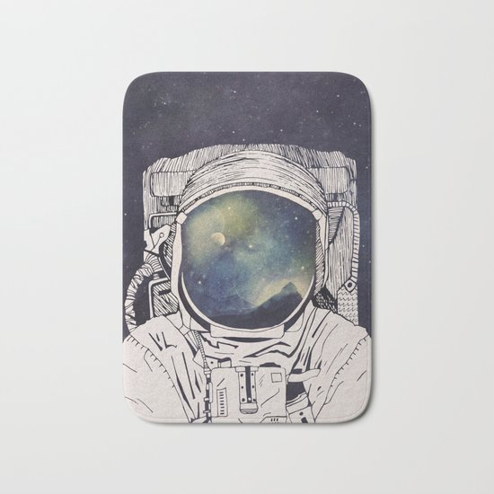 Dreaming Of Space Bath Mat