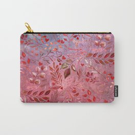 Urban Red Flourish Carry-All Pouch