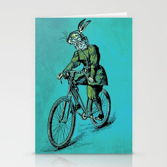 The Bicycle Bunny Stationery Cards