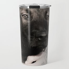 Love and protection for humans and animals Travel Mug