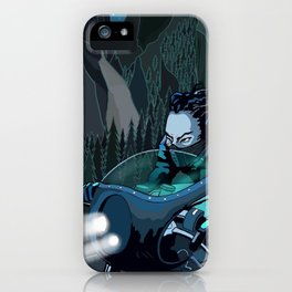 The Knight of the Night iPhone Case