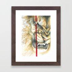 Jay Freestyle - Lion Framed Art Print