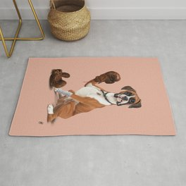 The Boxer (colour) Rug