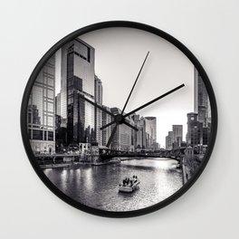Silver River Wall Clock