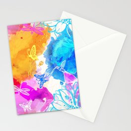 Floral Pattern 11 Stationery Cards