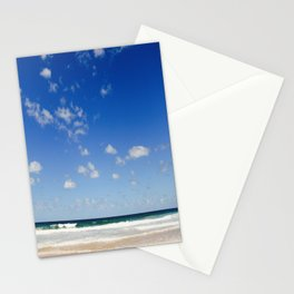 The Silence of waves Stationery Cards
