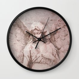 A Guardian Angel, To Watch Over Us A322b Wall Clock