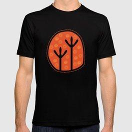 Emu Tracks Australian Aboriginal Style 1 T-shirt