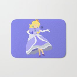 Princess Peach(Smash)Blue Bath Mat