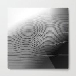Metal. Wave. Metal Print