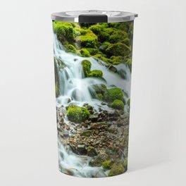 Wahkeena Creek Cascades Travel Mug