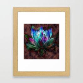 Lotus Land... Framed Art Print