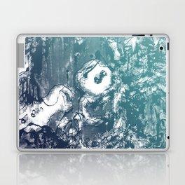 Inky Shadows - Blue edition Laptop & iPad Skin
