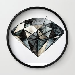 Earth Crystal Wall Clock
