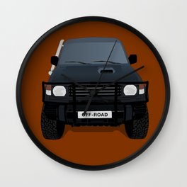 Let's Off - Road! Wall Clock