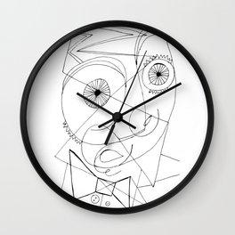 Joan Miro Self-Portrait Artwork For Prints Posters Tshirts Bags Women Men Kids Wall Clock