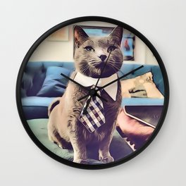 The Prime Minister Wall Clock