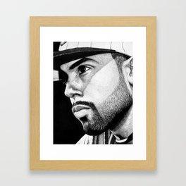 Cody B. Ware in ink Framed Art Print