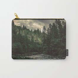 Pacific Northwest River - Nature Photography Carry-All Pouch