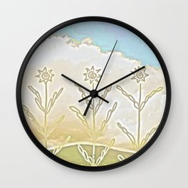 Distant Lands Wall Clock