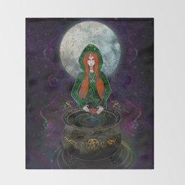 Cerridwen Throw Blanket
