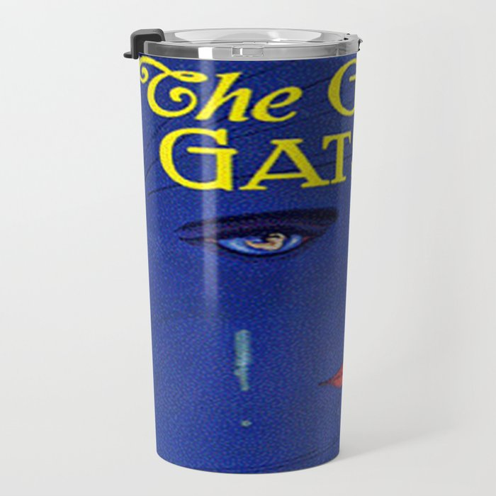 The Great Gatsby vintage book cover - Fitzgerald Travel Mug