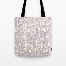 Ancient Greece purple pearl Tote Bag