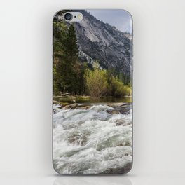 Mirror Lake and Rapids at Yosemite iPhone Skin