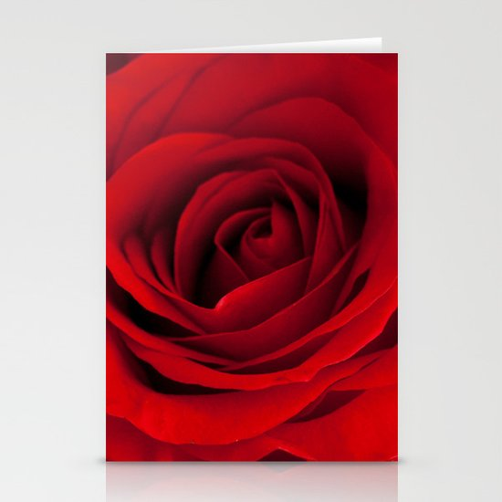 Heart of a rose  Stationery Cards