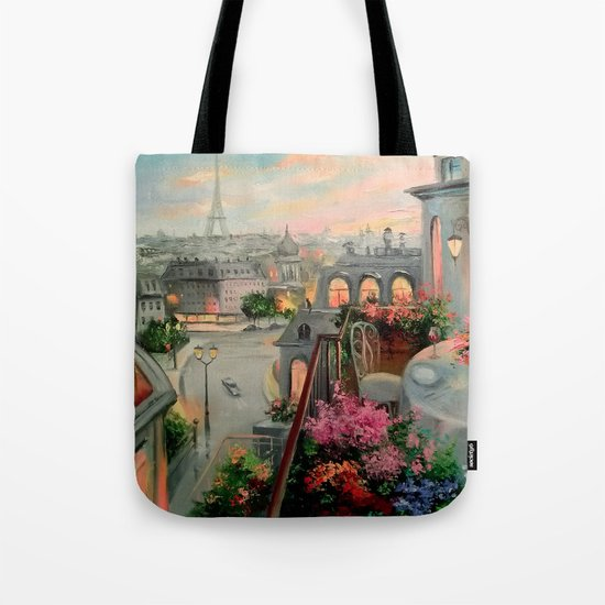 Paris for two Tote Bag