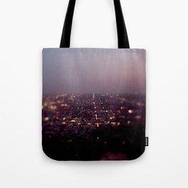 Angel City Lights, L.A. at Night (No. 2) Tote Bag
