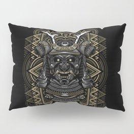 Samurai mask Pillow Sham