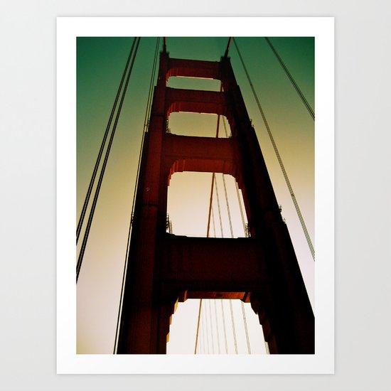 Golden Gate Part Two Art Print