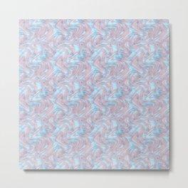 Marble Pattern Soft Colors Geology Art Lovers Metal Print