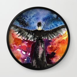If we burn, you burn with us Wall Clock