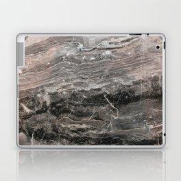 Smokey gray marble Laptop & iPad Skin