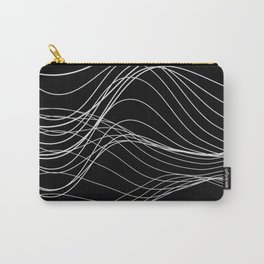 Lines // Waves Carry-All Pouch
